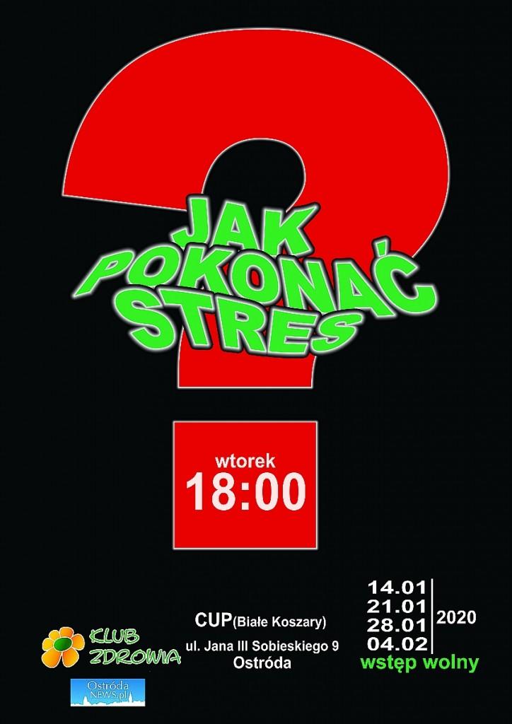 Plakat Stres